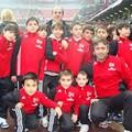 I nostri bambini a S.Siro con la Scuola Calcio Milan