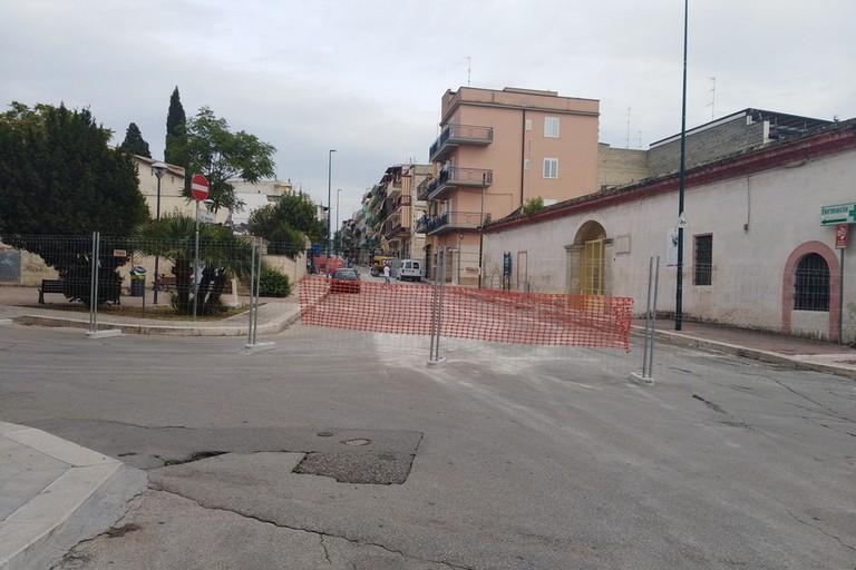 Cantiere riqualificazione San Sebastiano
