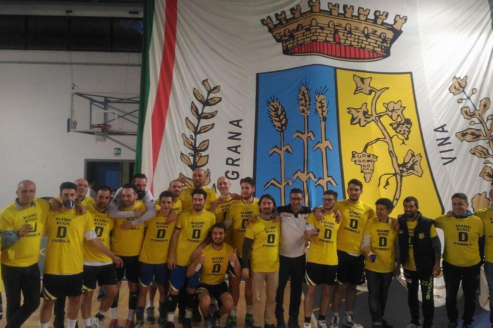 Casareale Volley Gravina conquista la Serie D