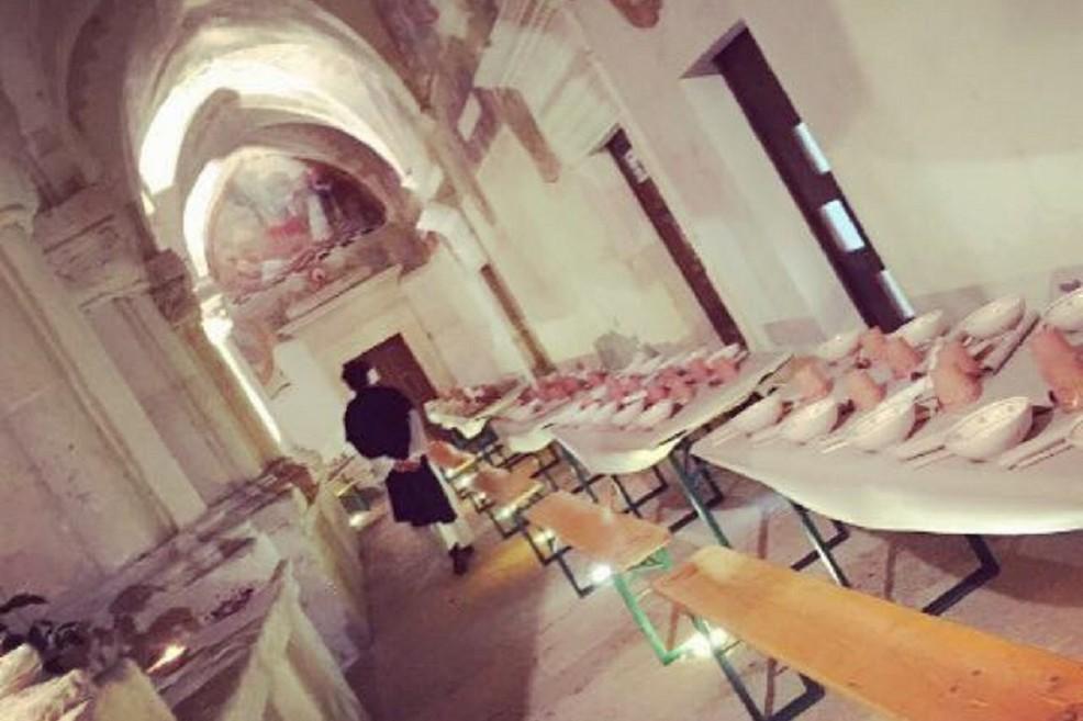 Cena medievale con spettacolo