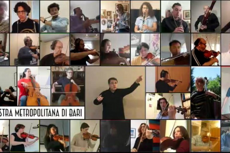 concerto orchestra citta metropolitana Bari