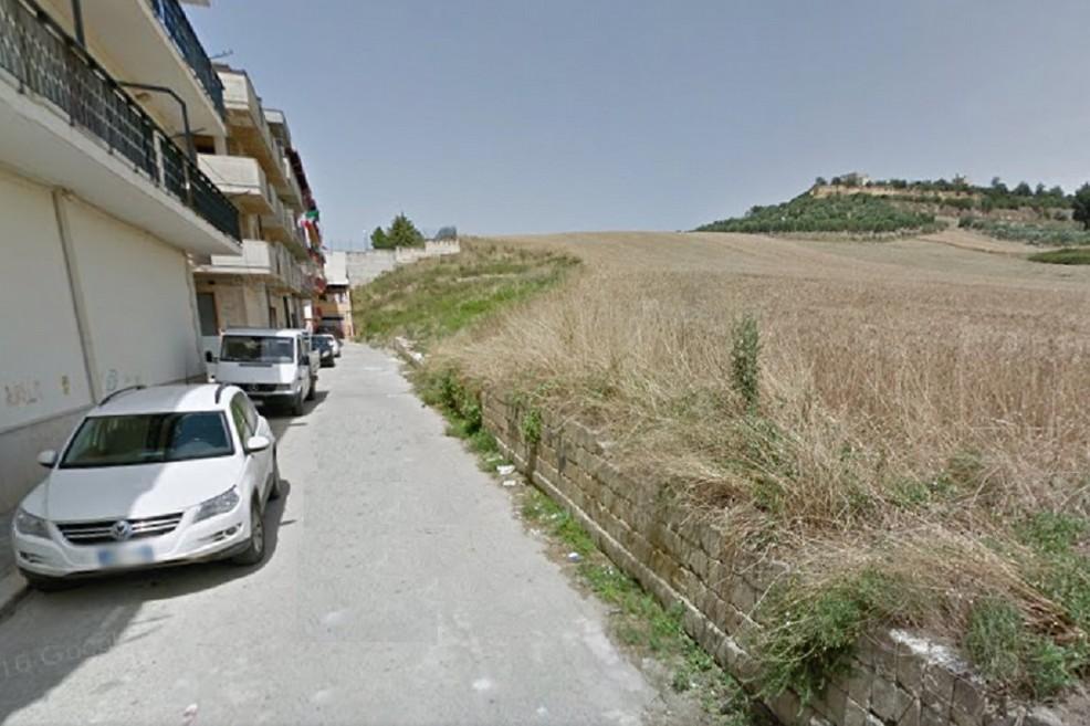 Collina adiacente via Deledda