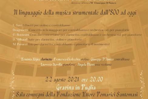 concerto fondazione santomasi