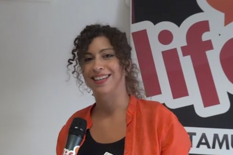 Debora Schinco, presidente del Teatro Vida