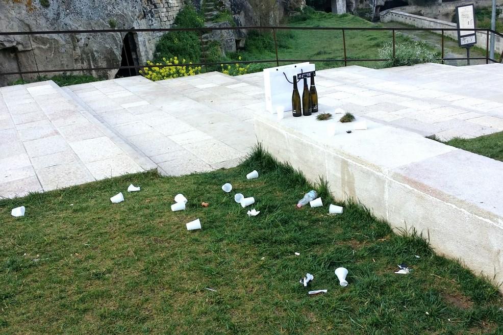 Degrado a San Michele delle Grotte