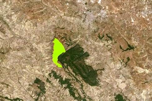 Nucleare, mappa di Gravina
