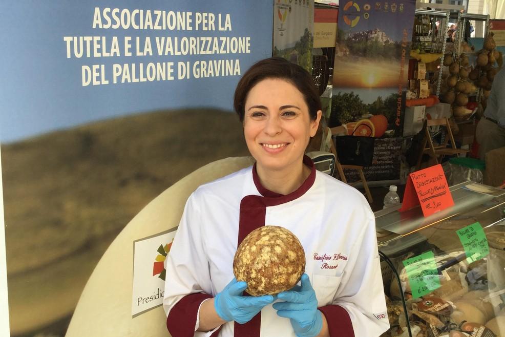 Rosamaria Derosa, Pallone di Gravina Presidio Slow Food 2012