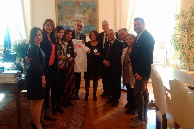Fedele Nacucchi, ospite con ADMO Puglia in Parlamento