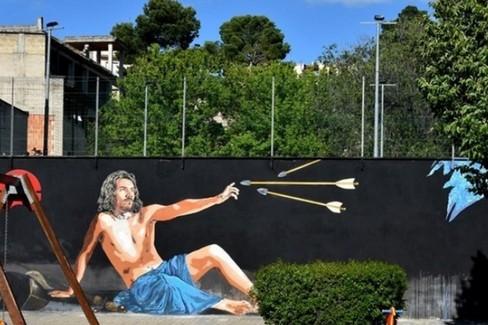 murales San Sebastiano