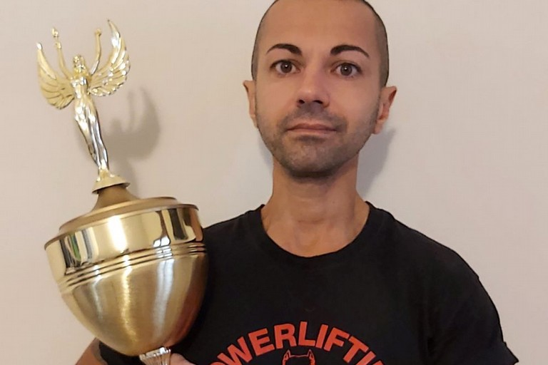 filippo Mascellaro- campione powerlifting