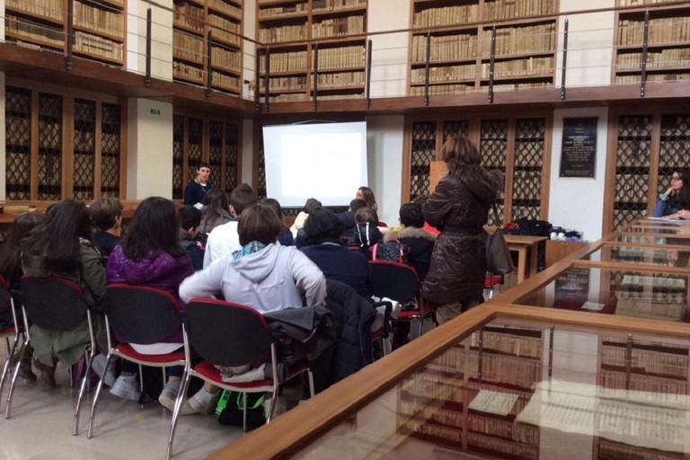 università dei ragazzi presso biblioteca Finia