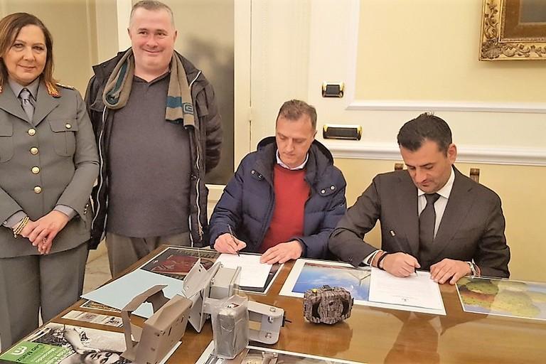 firma consegna fototrappole