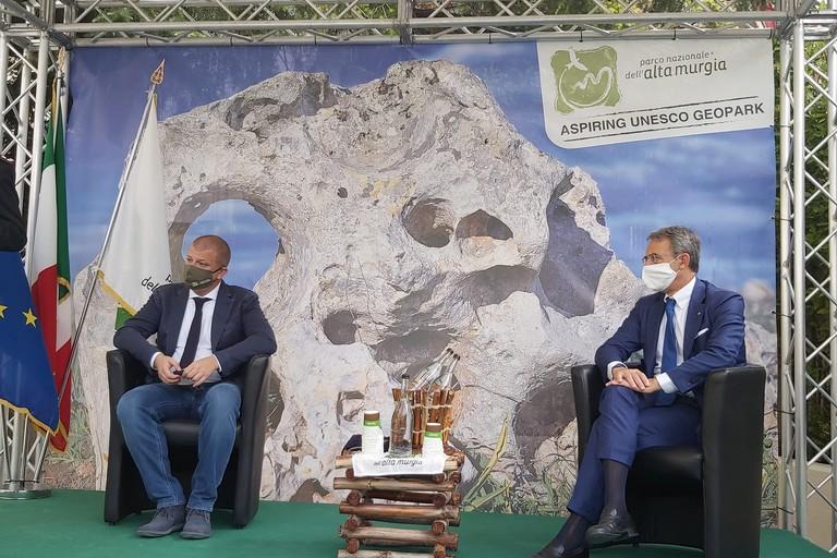 visita ministro Costa al Parco dell'Alta Murgia