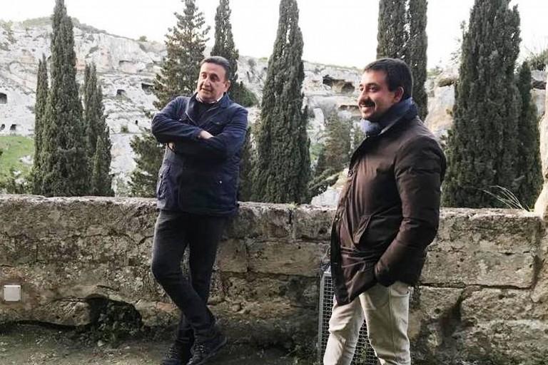 Roberto Giacobbo e Alesio Valente