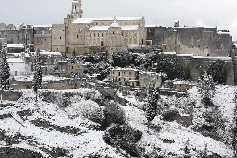 Neve a Gravina. <span>Foto Felice Losacco</span>