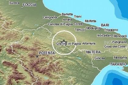 Terremoto gravina