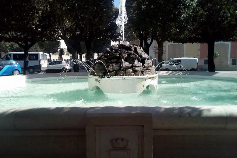 Fontana della villa comunale