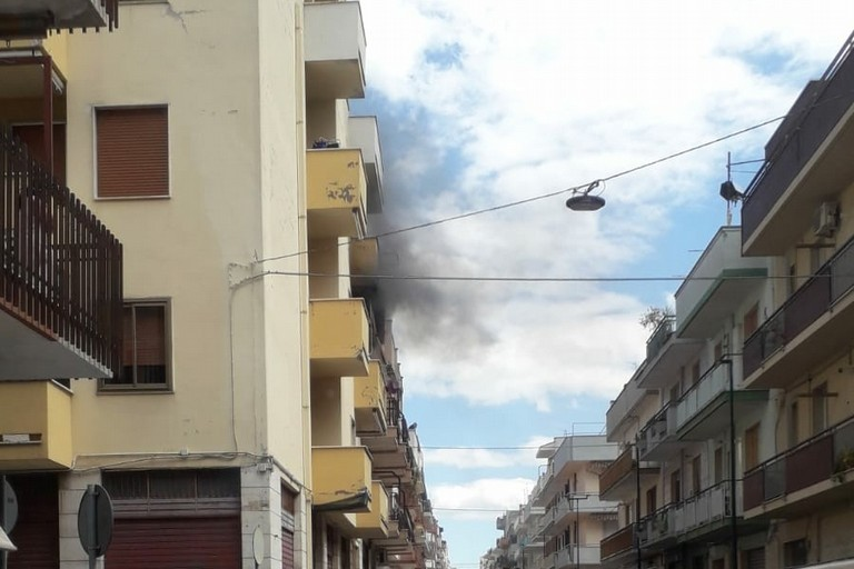Incendio via galilei