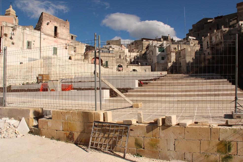 lavori San Michele delle grotte