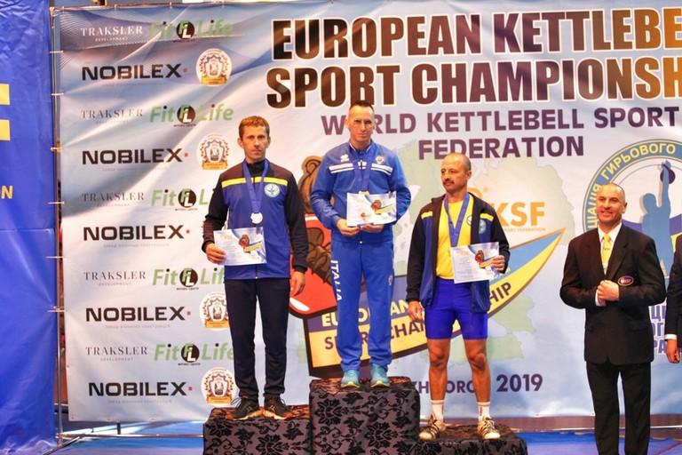 Jaques du Plessis oro agli europei di Kettlebell