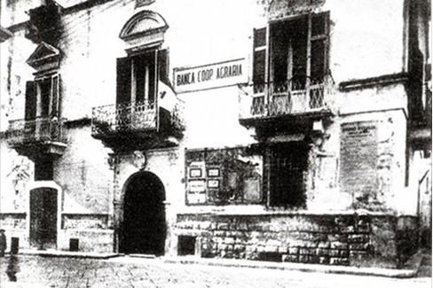 sede storica della Banca cooperativa agraria