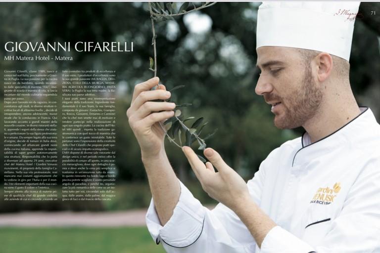 lo chef Giovanni Cifarelli