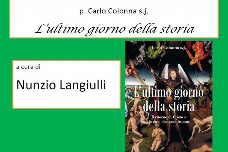 presentazione libro Carlo Colonna