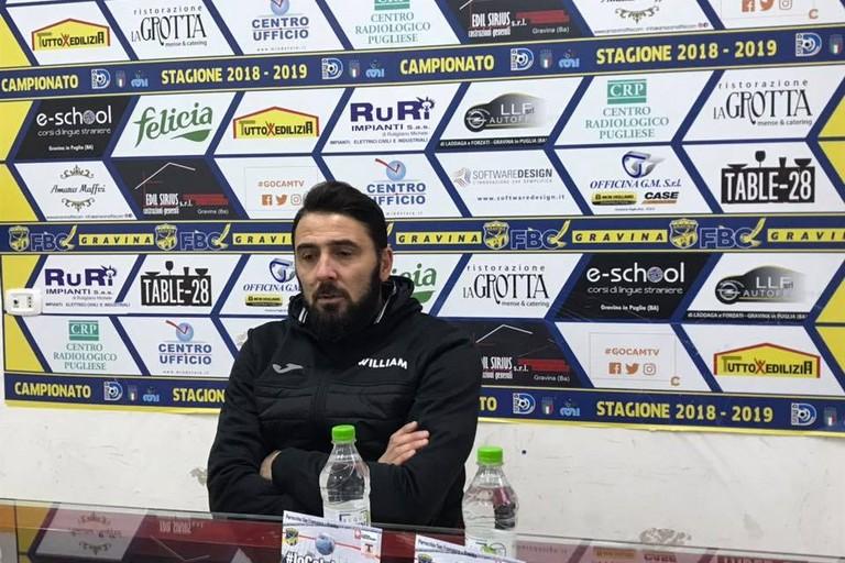Valeriano Loseto- allenatore della Fbc Gravina