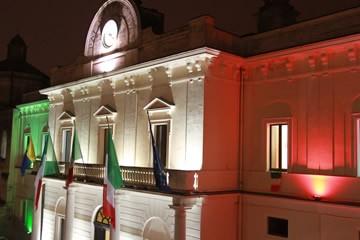 luci palazzo comunale