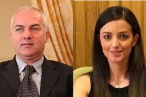 Luigi Lorusso e Claudia Stimola