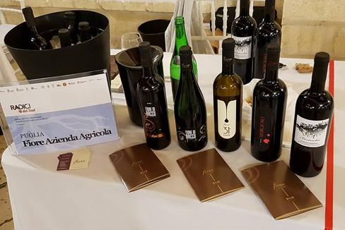 Primitivo vino Fiore azienda vinicola