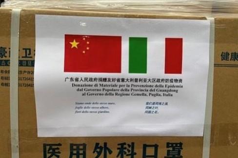 Carico dalla Cina