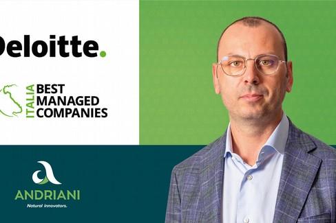 "Andriani spa si aggiudica il ""best manager companies award 2020"""