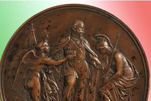 Medaglia commemorativa. Roma Capitale d'Italia. 1871