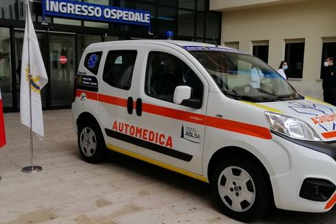 Una nuova automedica per l'ospedale della Murgia