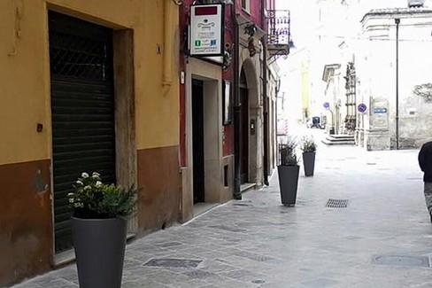 fioriere centro storico