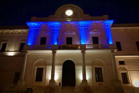 Il Comune in blu per la Giornata della sclerosi tuberosa