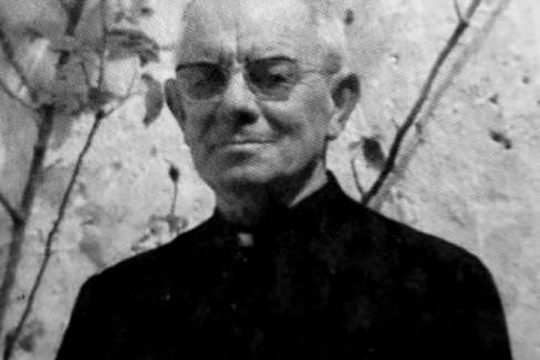 Don Silvestro Zonza segretario di Mons. Sanna, parroco di Dolcecanto