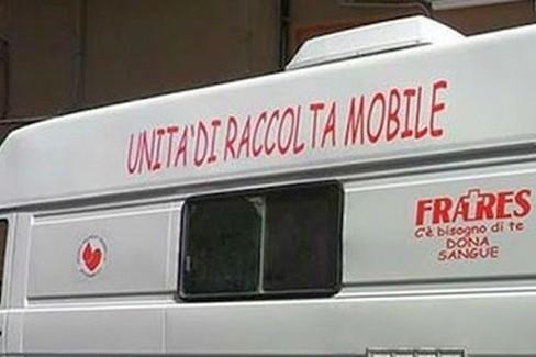 Donazione sangue, emoteca Fratres a Poggiorsini