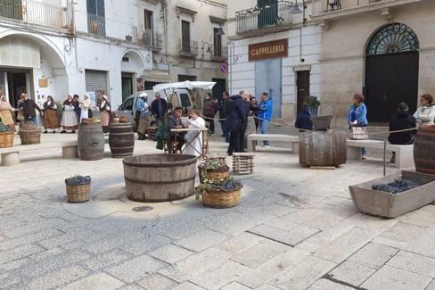 La festa dell'uva e del vino anima il centro storico