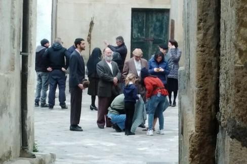 A Gravina si continua a girare per il film con Scamarcio