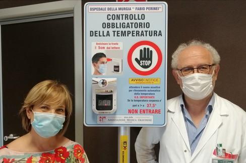 Un altro termoscanner donato all'ospedale della Murgia