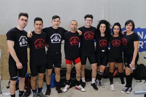 """Powerlifting, il team di Gravina primeggia nella  """"Open Cup of Italy """""""