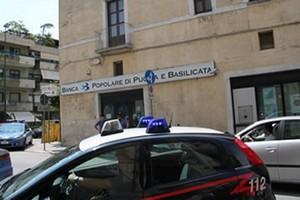 rapina banca popolare