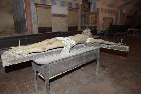 """Il Crocifisso del  """"Soccorpo"""" della cattedrale"""
