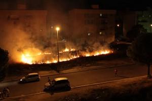 incendio zona mercato
