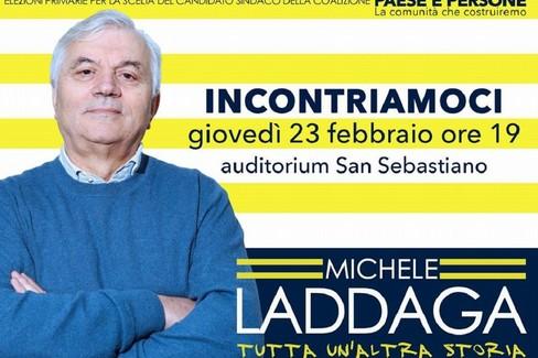 Appello al voto di Michele Laddaga, candidato alle primarie 2017