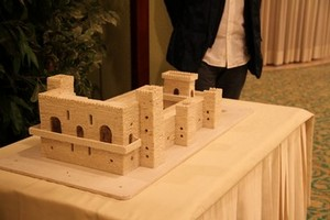 riproduzione castello
