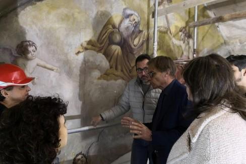 """""""Sant'Agostino """", i lavori sono a buon punto"""