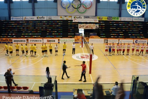 Volley: play off serie C, la Casareale sconfitta a Molfetta
